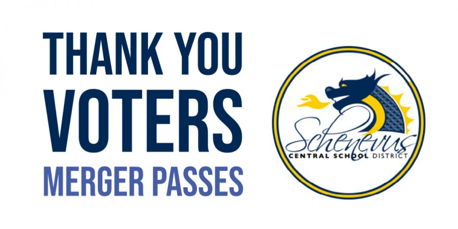 thank you voters merger passes